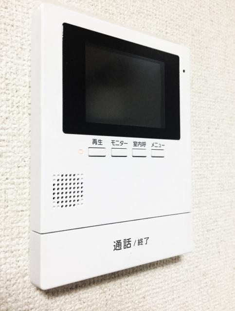 テレビインターホン(受信:親機)
