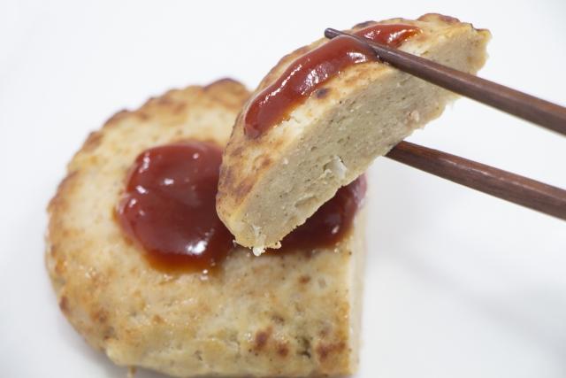 おいしい豆腐ハンバーグはタネの固さがちょうどいい